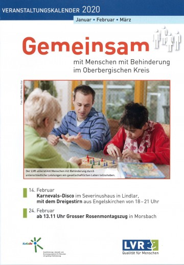 KoKoBe Oberberg  Veranstaltungskalender Q1 2020