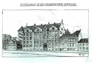 Grundschule an der Haimhauserstraße Referenz-Bild Street Theodor Fischer Schulhaus An Der Haimhause