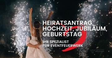 Pyrotechnik Brunner Feuerwerk - Signalmunition - Hochzeitsfeuerwerk