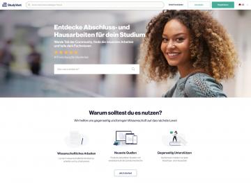 StudyVent GmbH Referenz-Bild Studyvent Screenshot Deutsch