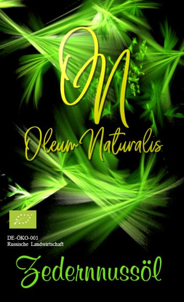 Naturmittel Schlierf Zedernnussoel 250ml Etikett